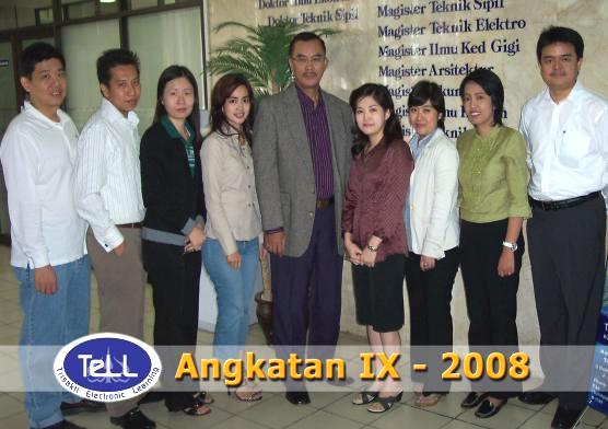 Reza at Trisakti University in 2008- on the far right