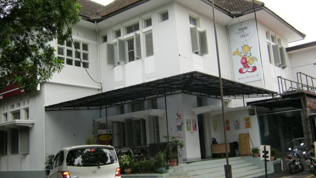 The old Jalan Jawa premises
