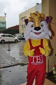 TBI's mascot, Tiby