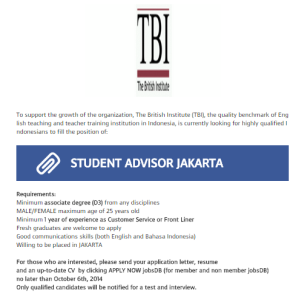 TBI job ad: No one over 25 can apply