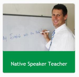 Native Speaker teacher?