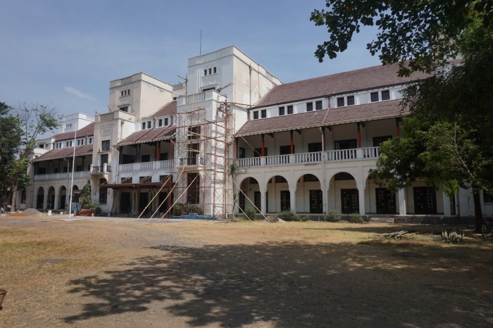 The SCS Building is currently under restoration