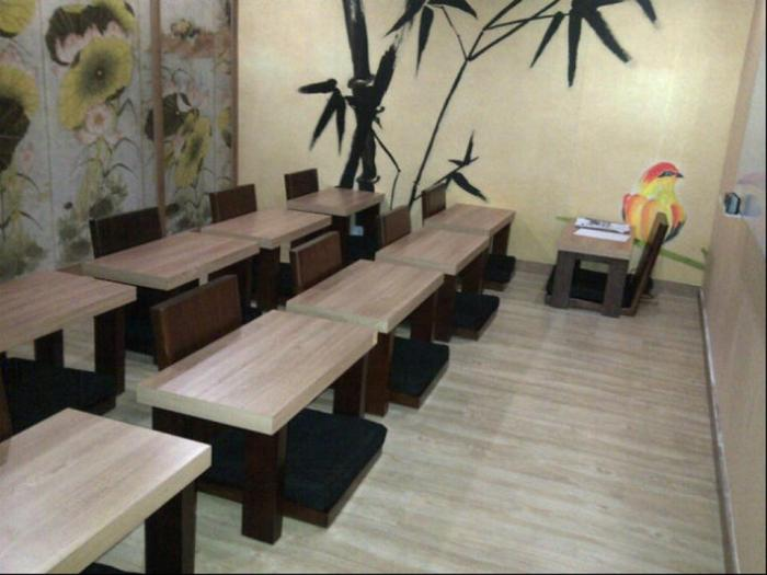One of the ethnically themed rooms at Global Language Centre, a failed language school