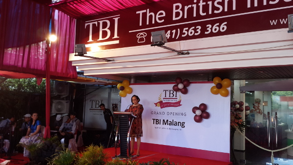 Ibu Ning opens TBI, a school which illegally employers foreigners