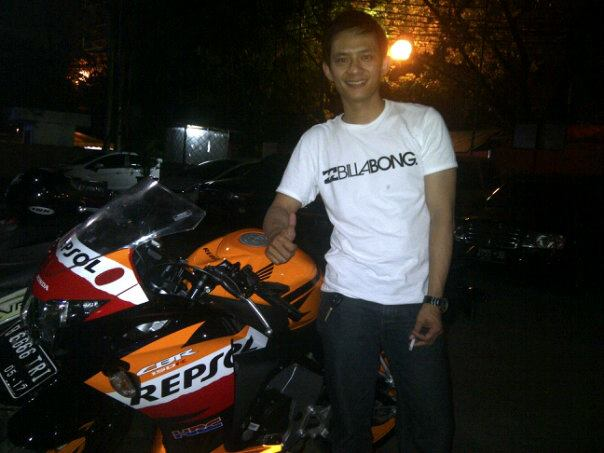 Riswanda robbed students and bought himself a new Repsol