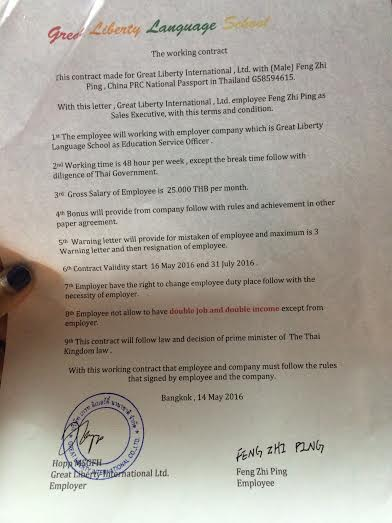 Hopp's Contract